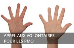 Appel aux volontaires pour les PMO