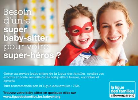 Besoin d'un·e super baby-sitter ?
