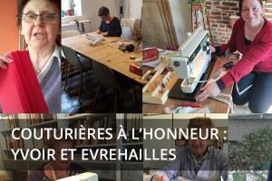 Couturières à l'honneur : Yvoir et Evrehailles