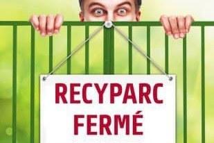 Fermeture du recyparc à Anhée