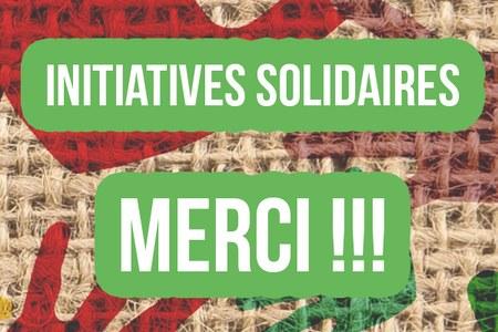 Initiatives solidaires, Nous avons encore besoin de vous !