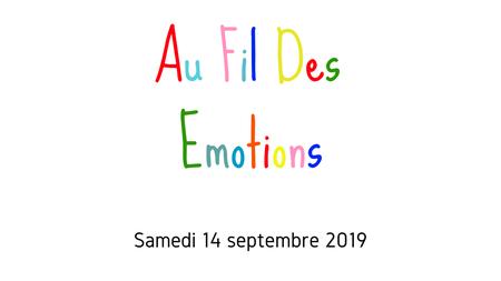 Animation - Au fil des émotions