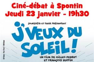 Ciné-débat à Spontin (les gilets jaunes...)