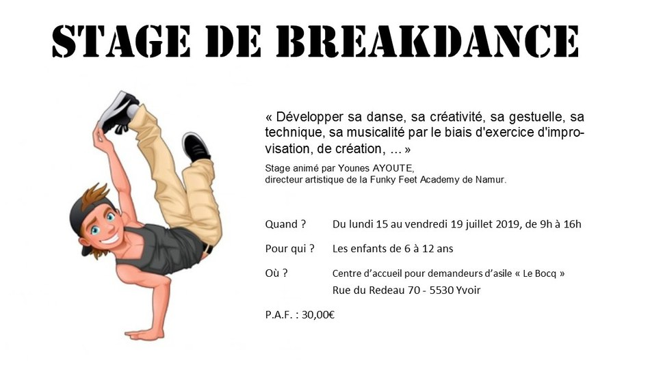 Stage Breakdance