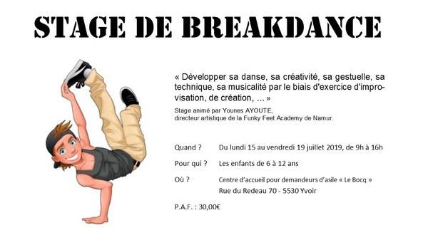 Stage Breakdance