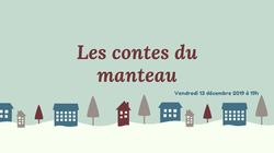 """Soirée """"Contes du manteau"""""""
