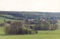 Vue partielle du village